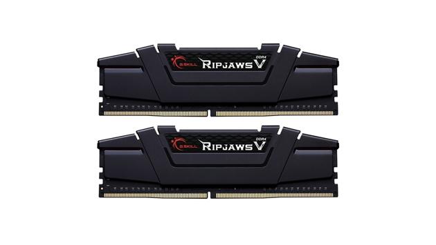 G.Skill RipJaws V schwarz DIMM Kit 16GB, DDR4-3200